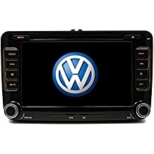 Volkswagen Jetta 07-11 OEM Replacement In Dash Double Din Touch Screen GPS DVD iPod Navigation Radio 2009-2011 [G6]