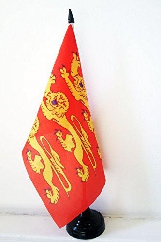 AZ FLAG Drapeau de Table Haute-Normandie 21x14cm