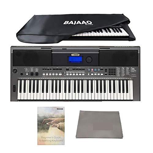Yamaha PSR I400 61-Key Portable Keyboard- VARIATION (PSRI400 + Dust Cover)