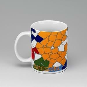 Gaudi barcelona mug barcelona coffee mug for Mug barcelona