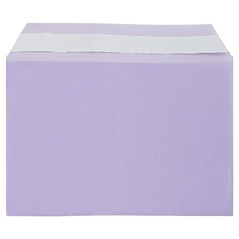 Amazon.com: JAM papel celofán mangas con autoadhesivo de ...