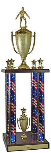 Wrestling Trophy - Pinnacle by QuickTrophy