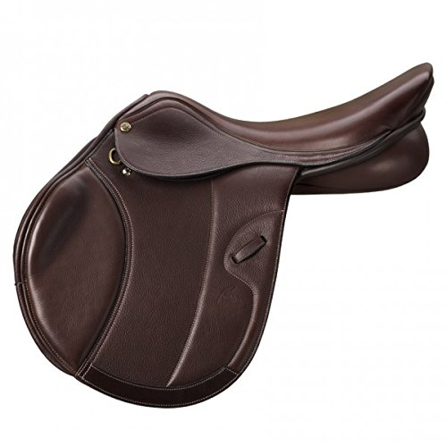 (Pessoa Professional Covered Leather Buffalo Saddle Corto Medium 17)