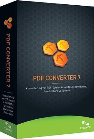 Nuance PDF Converter 7.0: Amazon.de: Software