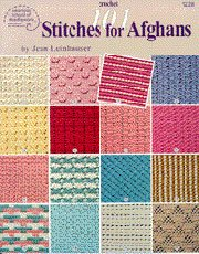 American Afghan Book Great (American School-101 Stitches For Afghans)