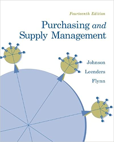 Purchasing and supply management the mcgraw hillirwin series purchasing and supply management the mcgraw hillirwin series operations and decisions sciences p fraser johnson michiel leenders anna flynn fandeluxe Images