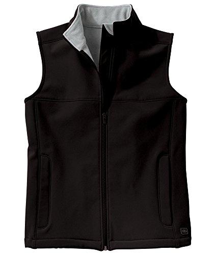 Charles River Apparel Women's Soft Shell Vest, X-Small, Black/Vapor Grey by Charles River Apparel