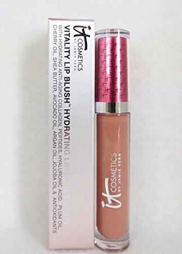 IT Cosmetics Vitality Lip Blush Hydrating Lip Gloss Stain – Naturally Flushed