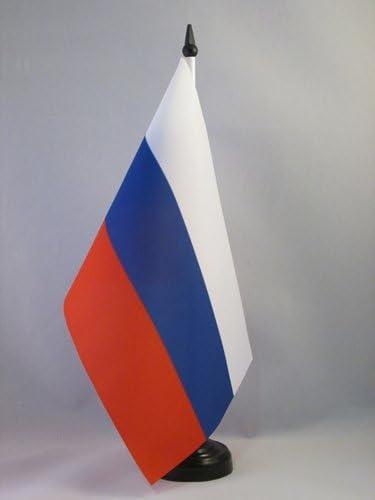 AZ FLAG Bandera de Mesa de Rusia 21x14cm - BANDERINA de DESPACHO ...