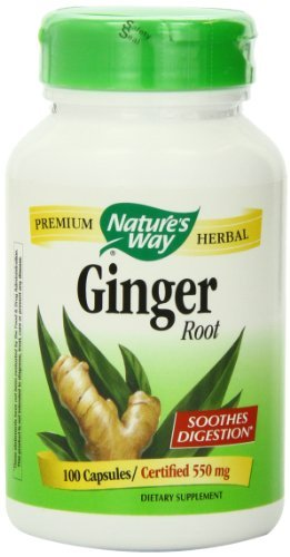 Cheap Nature's Way Ginger Root, 550 Milligrams, 180 Capsules