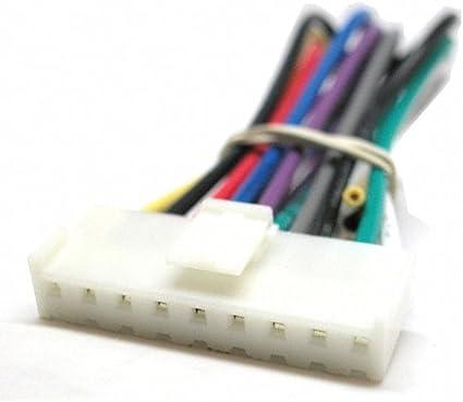 amazon.com: best kits sony 9 pin original head unit radio wiring harness:  car electronics  amazon.com