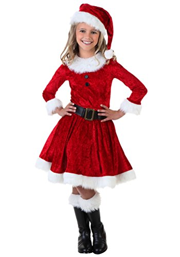 Mrs Claus Costume Dress (Girl Mrs. Claus Costume Large)