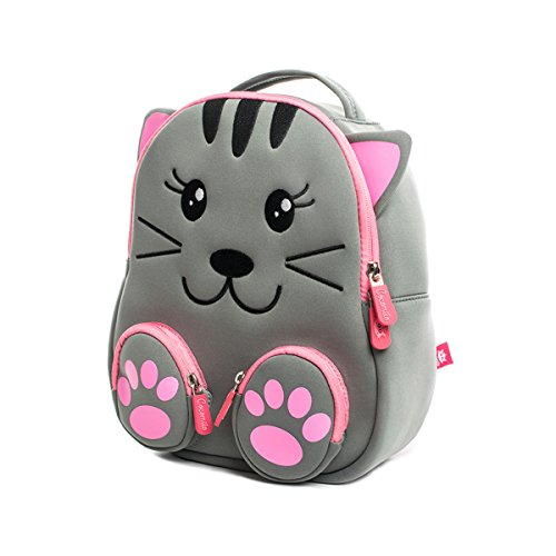 Cute Cat Baby Bag Waterproof Preschool Bag for Kids Toddler Backpack with Anti-lost Leash by Cocomilo by Cocomilo