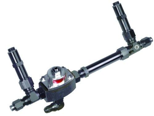 Professional Products 10430 Black Carburetor Fuel Inlet Kit with Regulator for Holley 4150 Carburetor