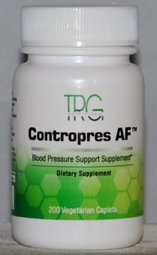 Contropres AF - Doctor. Developed TCM Herbal Formula That Helps Support Lower BP. Works Well in Conjunction with Lopres AF.