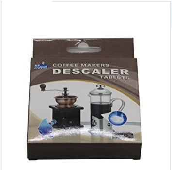 Tabletas de desincrustantes para cafetera - 4 tablets por caja - quita sarro en las máquinas de café efectivamente! by DURSHANI: Amazon.es: Hogar