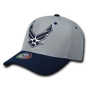 Rapid Dominance Genuine Workout Branch Caps Baseball Hat (Adjustable , US AIRFORCE)