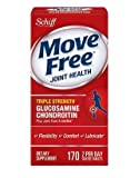 Schiff Move Free Advanced Works in just 1 to 2 weeks and now in a new, smaller tablet - Schiff Move Free Advanced Triple Strength - 170 Coated Tablets