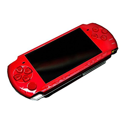 Psp Replacement Case - OSTENT High Quality Full Housing Shell Faceplate Case Part Replacement Compatible for Sony PSP 3000 Color Red