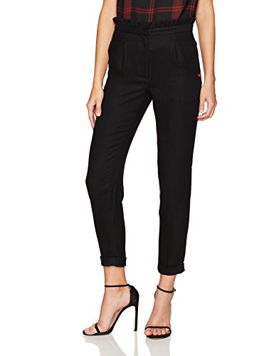 Dear Drew by Drew Barrymore Women's Arthur Ave High Waist Ruffle Trouser, Tap Shoe, ()