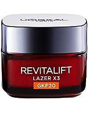 L'Oréal Paris Revitalift Lazer X3 Leke ve Kırışıklık Karşıtı Bakım Gkf20, 50 ml