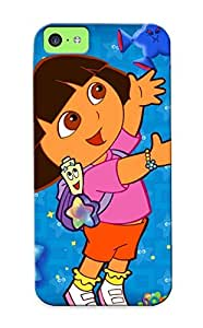Premium JEaOyO-182iphone 5s-HNAar Case With Scratch-resistant/ Dora The Explorer Birt Ay Log In Case Cover For iphone 5s c