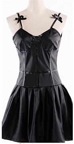 Vicwin-One The Future Diary Gasai Yuno Black Dress Cosplay Costume