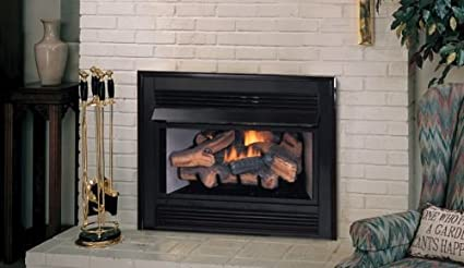 Natural Gas Vent Free Fireplace Insert With Millivolt Control