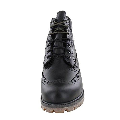 Timberland 6 In Wp Brogue Boot - Botas de cordones Hombre Black