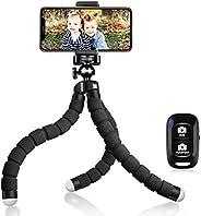 UBeesize Tripod S, Premium Flexible Phone Tripod with Wireless Remote, Mini Tripod Stand for Cameras/GoPros/Mo
