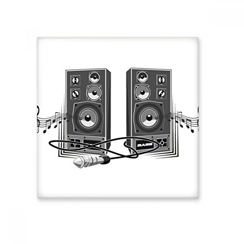 Song Music Loudspeaker Box Pattern Ceramic Bisque Tiles Bathroom Decor Kitchen Ceramic Tiles Wall Tiles (Music Bisque Box)