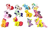 PD Store My Little Pony Rainbow Dash Playset 12 Figure Cake Topper USA Fast Ship