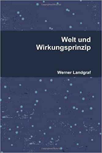 Book Welt und Wirkungsprinzip