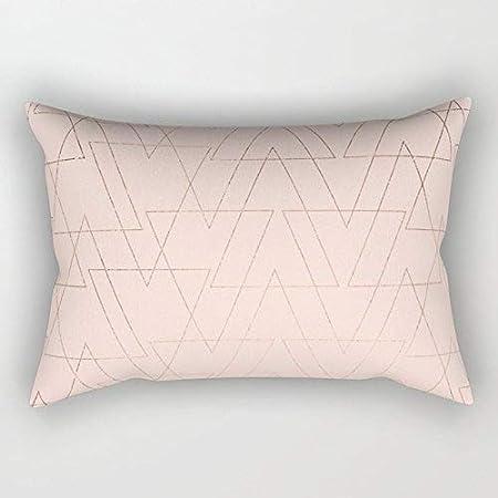 Federe Cuscini 40 X 60.Gold Geometric Cubes Teal Marmo Deco Design Rettangolo Fodere Per