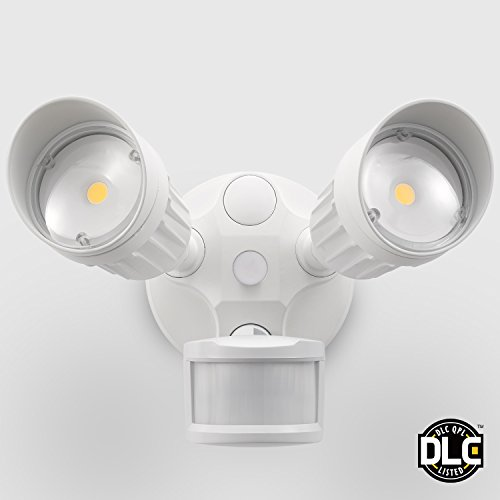 20w Dual Head Motion Activated Led Outdoor Security Light