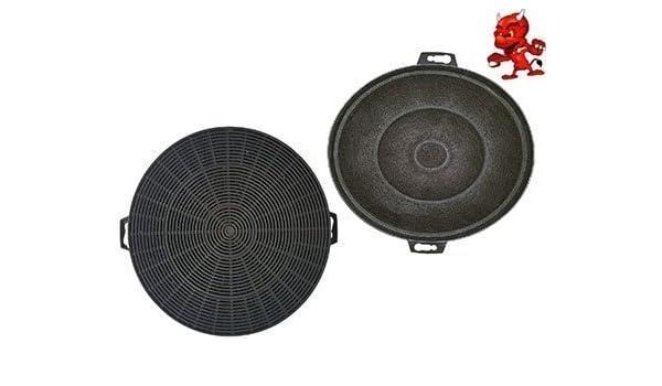 Juego de 2 filtros de carbón activo para campana extractora Siemens LC4566501, LC4566502, LC4566503: Amazon.es: Iluminación