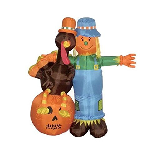 The Holiday Aisle 6' Thanksgiving Inflatable Scarecrow by BLOSSOMZ