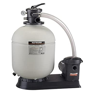 Hayward S210T93S Pro Series 21 Top-Mount Above Ground Pool Sand Filter System with 1.5-HP Matrix Pump