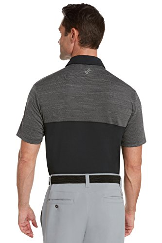 Jolt Gear Dri-Fit Mens Moisture Wicking Two-Tone Polo Cleaning Shirt - back