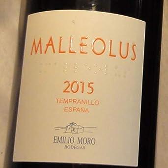 Malleolus 2015, Vino, Tinto, Ribera del Duero, España: Amazon.es: Alimentación y bebidas