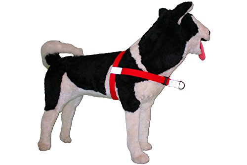 Image of No-Choke No-Pull Front-Leading Dog Harnesses, Sport Edition, 25-65 lbs, Ruby Red