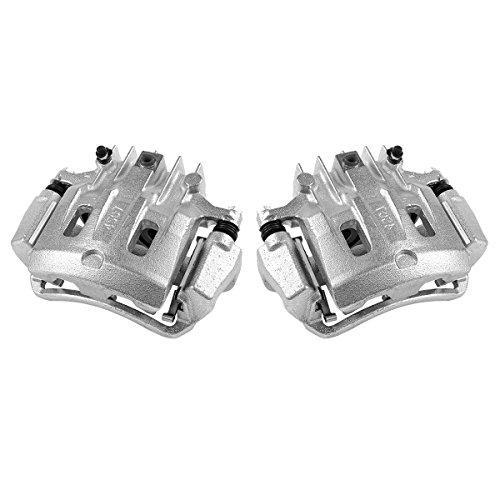 (CKOE00971 [ 2 ] REAR [ 2WD 4WD ] Premium Grade OE Semi-Loaded Caliper Assembly Pair)