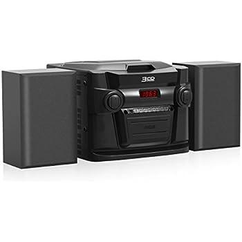 Amazon Com Rca 3 Cd Audio System Rs22363 Electronics
