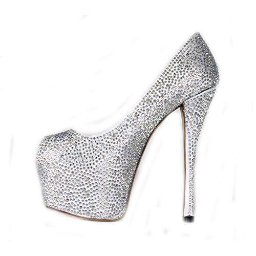 Heel Talons Chaussures Color Hauts pour Bright Femmes High à Stiletto gRwawxq05