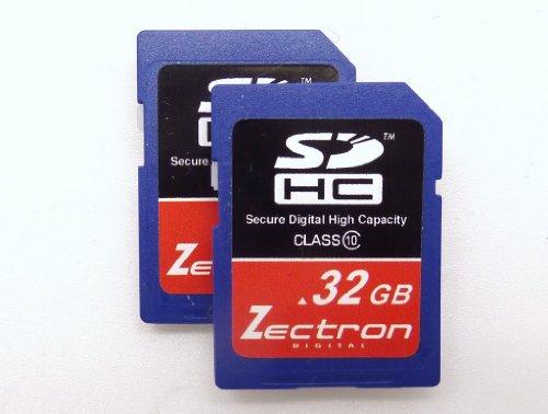 Zectron Digital 32GB Trade Pack 2 x Class 10 High Speed SDHC MEMORY CARD FOR Panasonic Lumix DMC-TS10, DMC-TZ2, DMC-TZ3, DMC-TZ4, DMC-TZ5, DMC-TZ6, DMC-TZ7, DMC-TZ8, DMC-TZ9, DMC-TZ10, DMC-TZ11, DMC-TZ15, DMC-TZ18, DMC-TZ19, DMC-TZ20, DMC-TZ24, DMC-TZ50, DMC-TZ65, DMC-ZR1, DMC-ZS1, DMC-ZS2, DMC-ZS3, DMC-ZS5, DMC-ZS6, DMC-ZS7, DMC-ZX1, DMC-ZX3