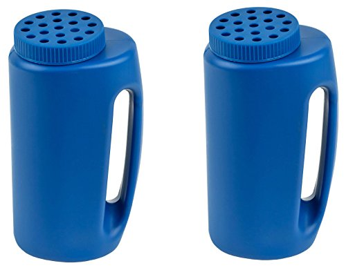 Handheld Spreader, Salt and Seed Spreader, Also for Fertilizer, Deicing/Ice Melt By Stalwart, 2 Pack