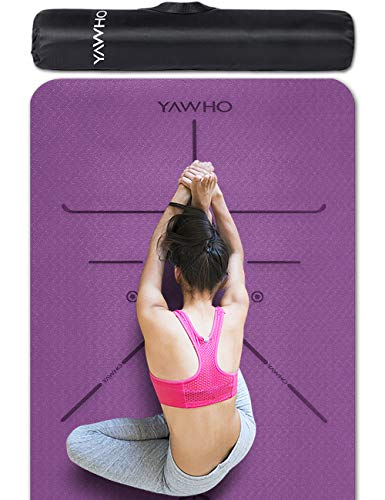 YAWHO Yoga Mat Fitness Mat Eco Friendly Material SGS Certified Ingredients TPE Specifications 72