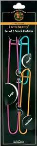 Lion Brand Yarn 400-5-1002 Stitch Holders, Set of 3