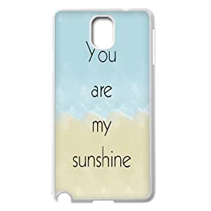 custom samsung galaxy note3 n9000 Case, you are my sunshine durable case for samsung galaxy note3 n9000 at Jipic (style 5)
