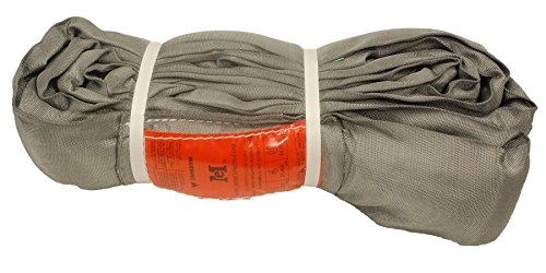 20 Endless Sling Polyester Round Lift Sling Gray 32000LBS Vertical